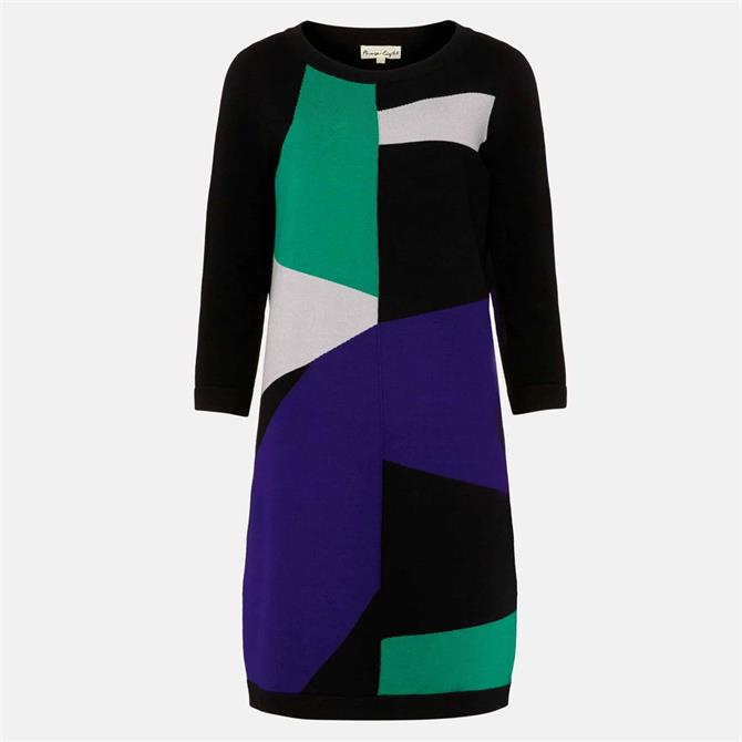 Phase Eight Caleigh Colourblock Dress Green