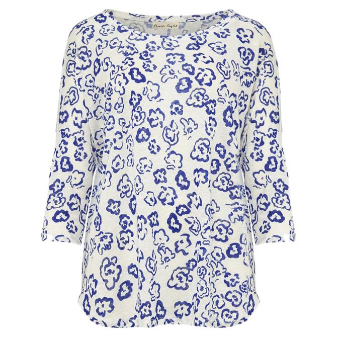 Phase Eight Catrina Linen Floral Top