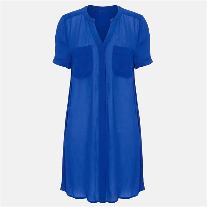 Phase Eight Charlotte Tunic Shirt Blue