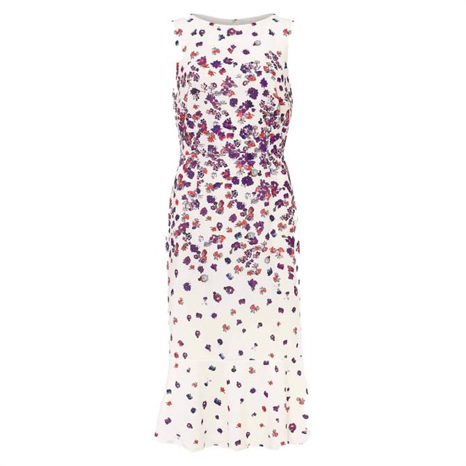 Phase Eight Dahlia Ditsy Floral Fitted Dress