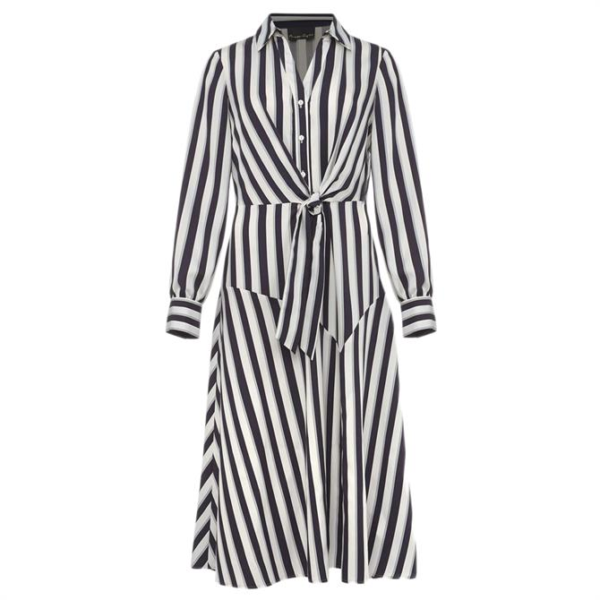 Phase Eight Dasha Stripe Dress
