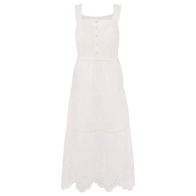 Phase Eight Ellie Broderie Midi Dress