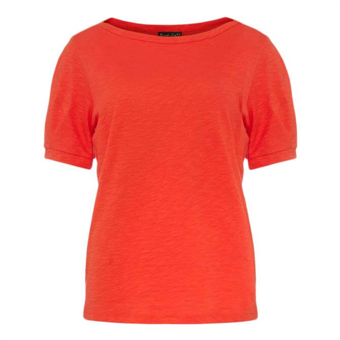 Phase Eight Elspeth Pleat Sleeve Top - Red