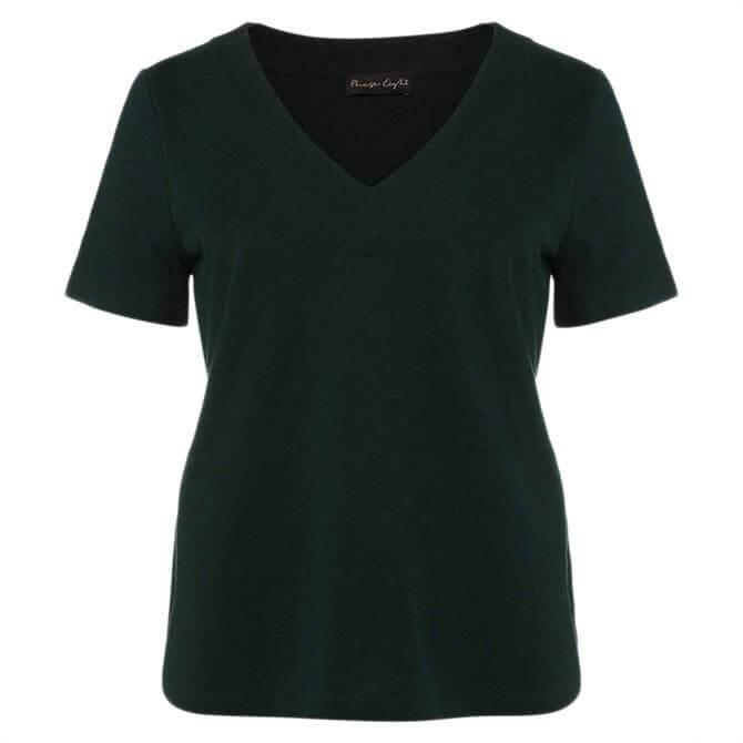 Phase Eight Elspeth V-Neck Cotton T-Shirt