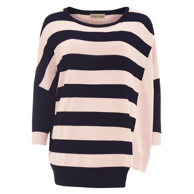 Phase Eight Farla Cutabout Stripe Knit Top