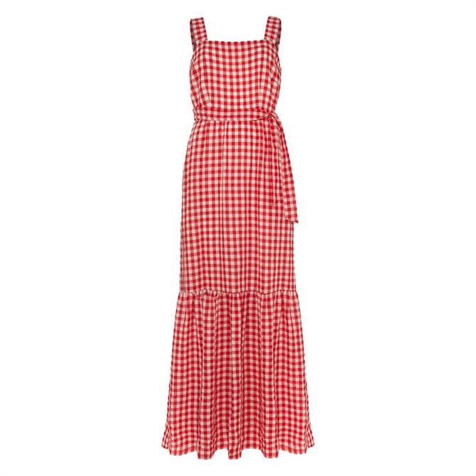 Phase Eight Geri Gingham Maxi Dress