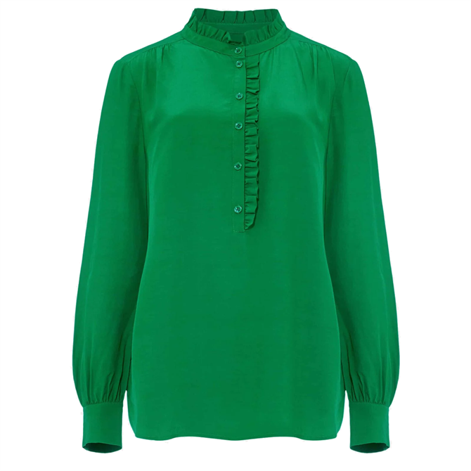 Phase Eight Loni Frill Blouse