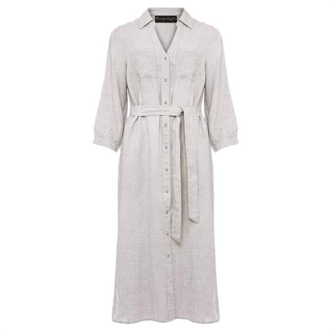 Phase Eight Harlyn Linen Shirt Dress