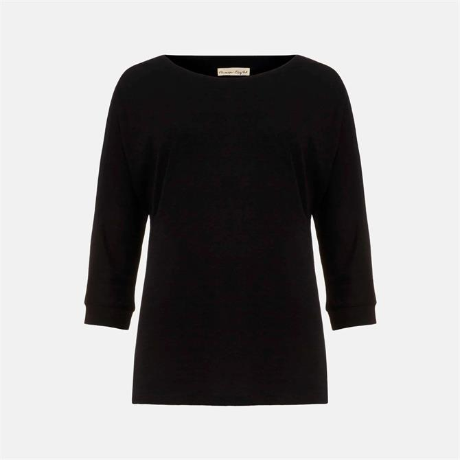 Phase Eight Belle Black Jersey Top