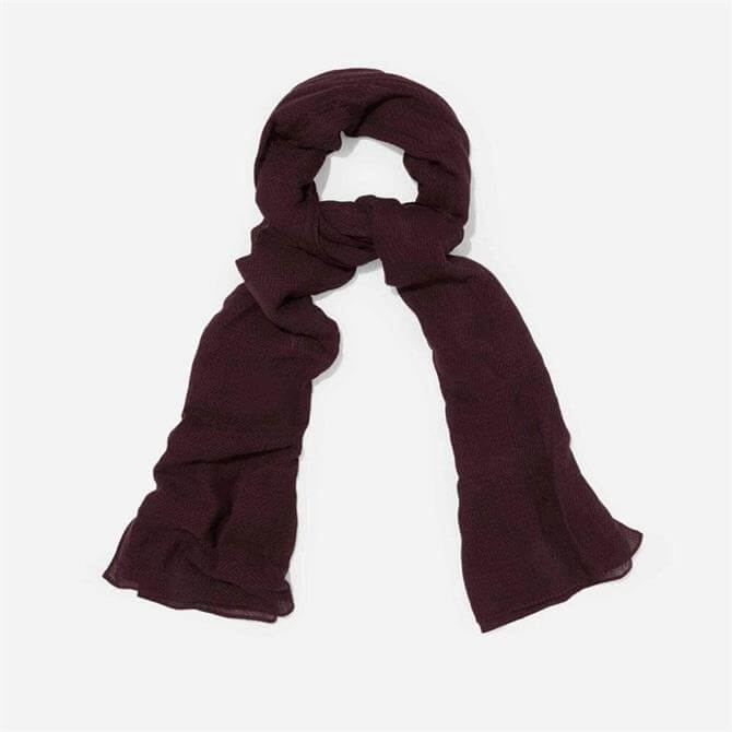 Phase Eight Henni Scarf Nightshade Purple