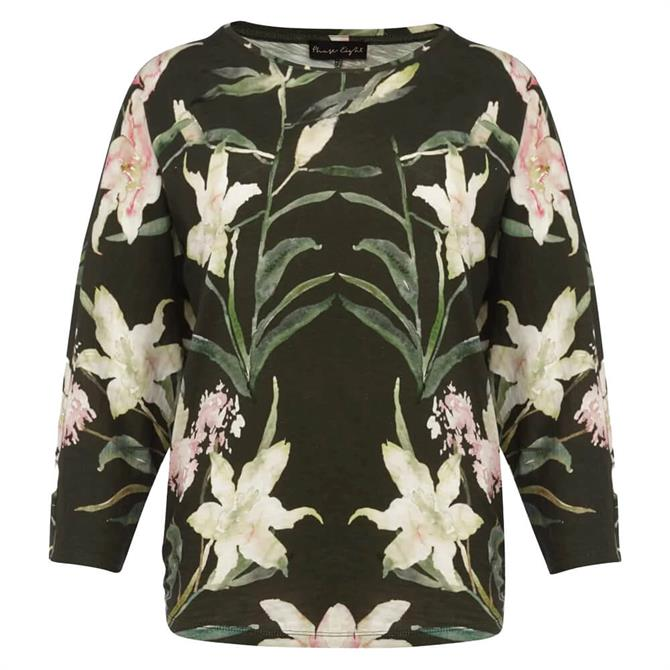 Phase Eight Inna Watercolour Print Jersey Top