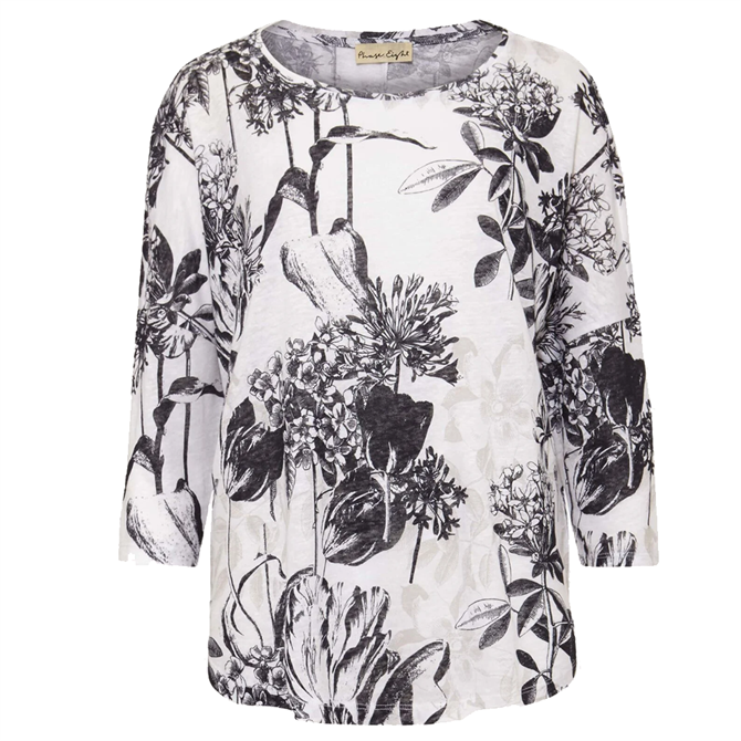 Phase Eight Catrina Floral Linen Top