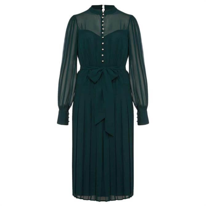 Phase Eight Izzy Button Detail Dress