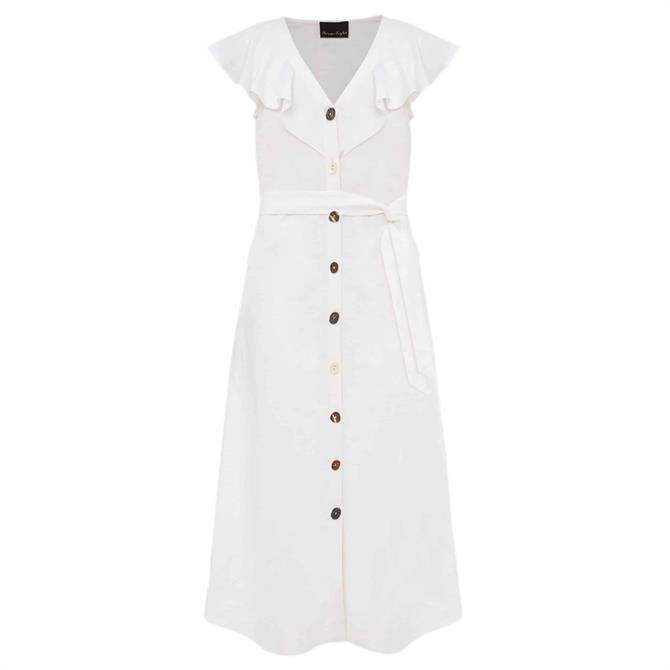 Phase Eight Jemima Linen Shirt Dress