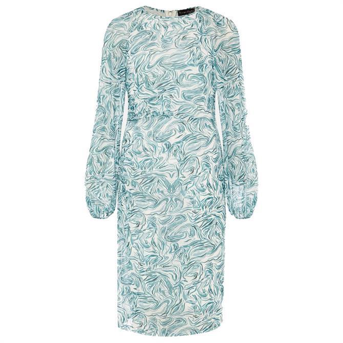 Phase Eight Jolie Swirl Mesh Dress