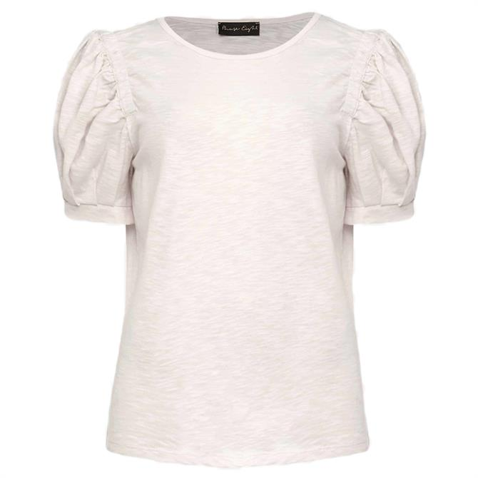 Phase Eight Kelly Ruched Puff Sleeve Top