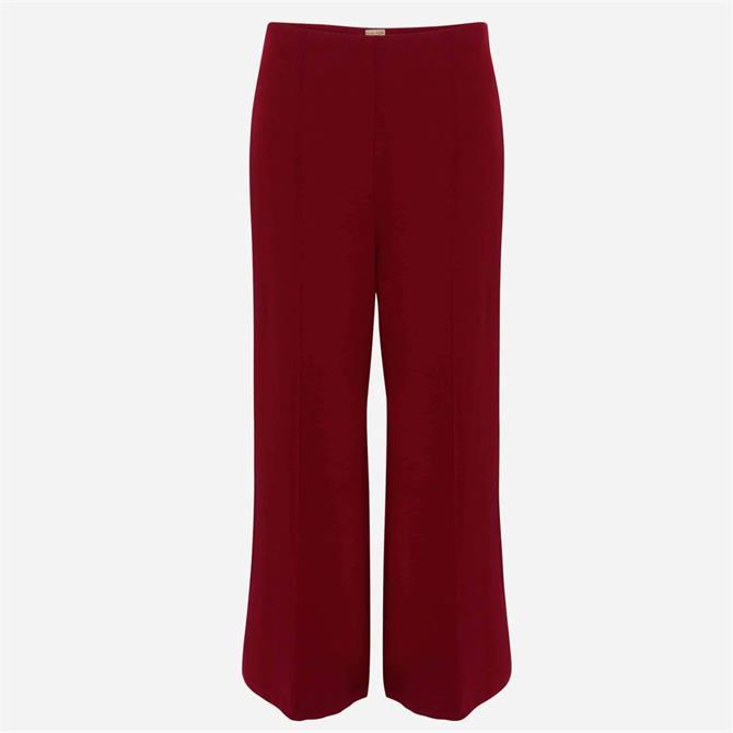 Phase Eight Lenka Ponte Trousers Red