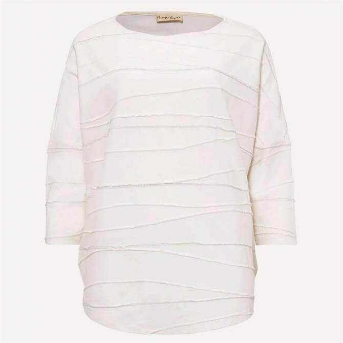 Phase Eight Lori Wave Top Ivory