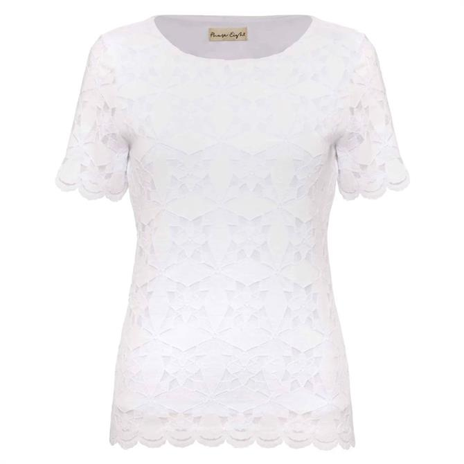 Phase Eight Louisa Lace Top