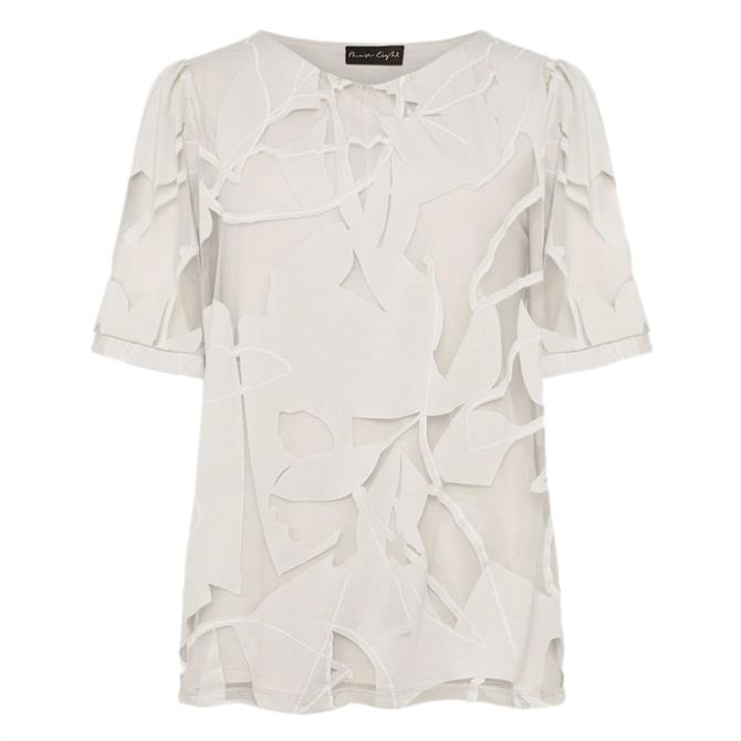 Phase Eight Matisee Burnout Print Top