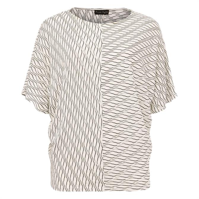 Phase Eight Mollie Cutabout Stripe Textured Top