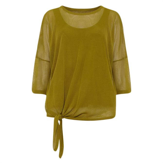 Phase Eight Nat Tie Side Knit Top
