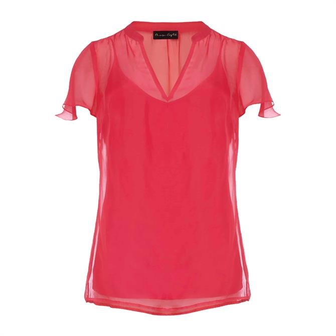 Phase Eight Naya Silk Fitted Blouse