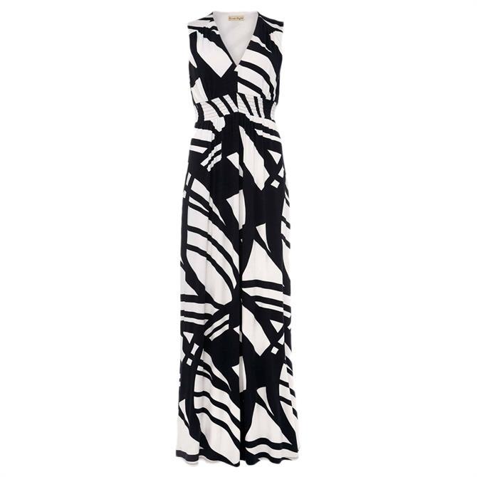 Phase Eight Ostia Abstract Stripe Maxi Dress