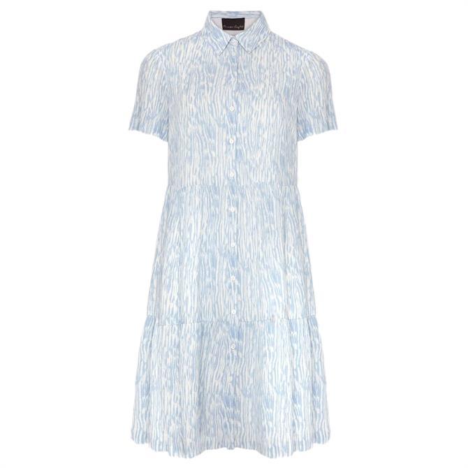 Phase Eight Penele Brushstroke Print Shirt Dress