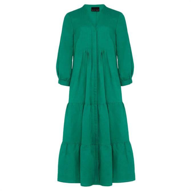 Phase Eight Penele Linen Midi Dress