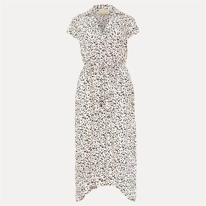 Phase Eight Afia Ditsy Spot Shirt Dress