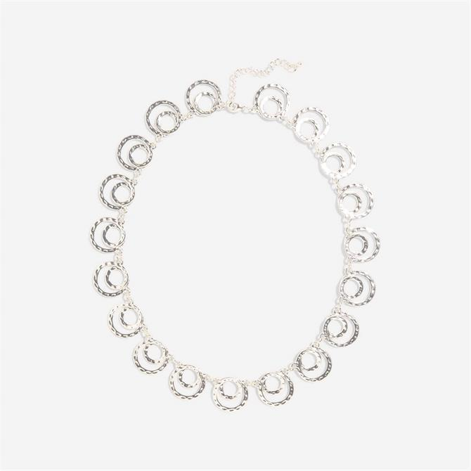 Phase Eight Amy Short Silver Necklace