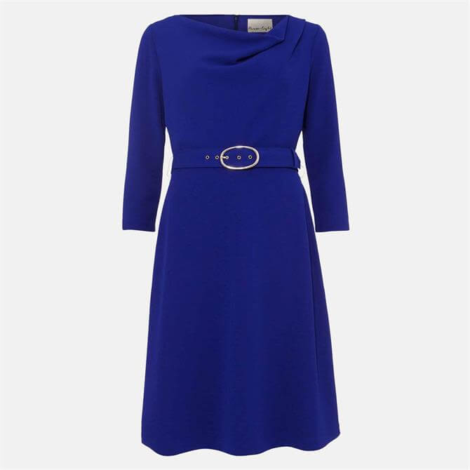 Phase Eight Annette Cowl Neck Swing Dress