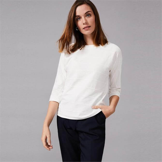 Phase Eight Belle Ripple Textured Top