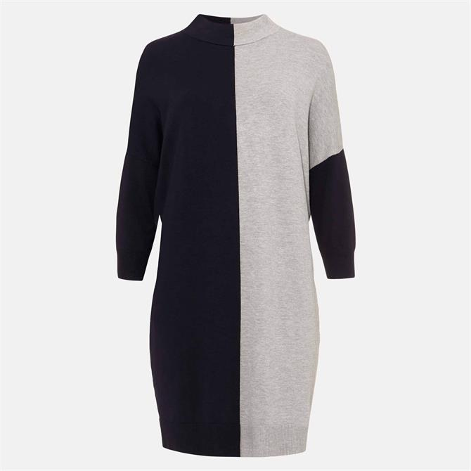 Phase Eight Chloe Colourblock Knitted Tunic Dress