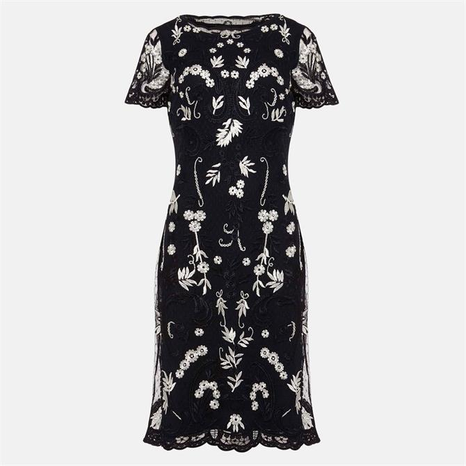 Phase Eight Floris Embroidered Shift Dress