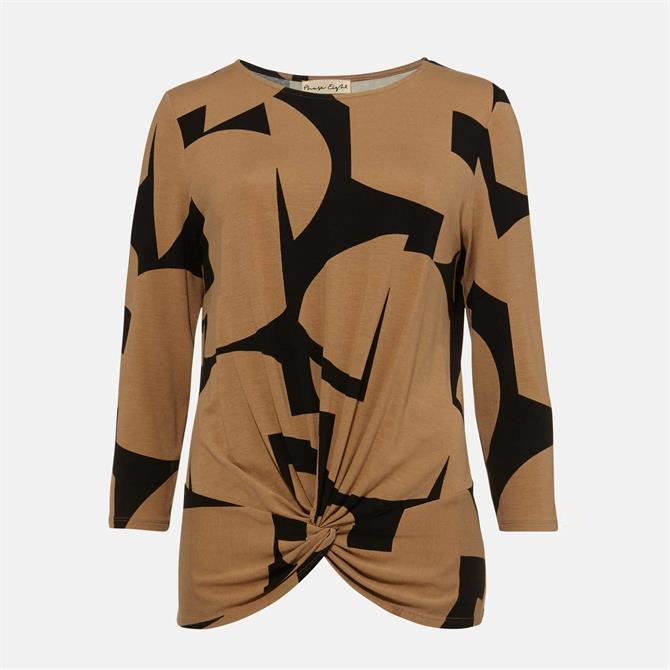 Phase Eight Gretchen Print 3/4 Sleeve Top