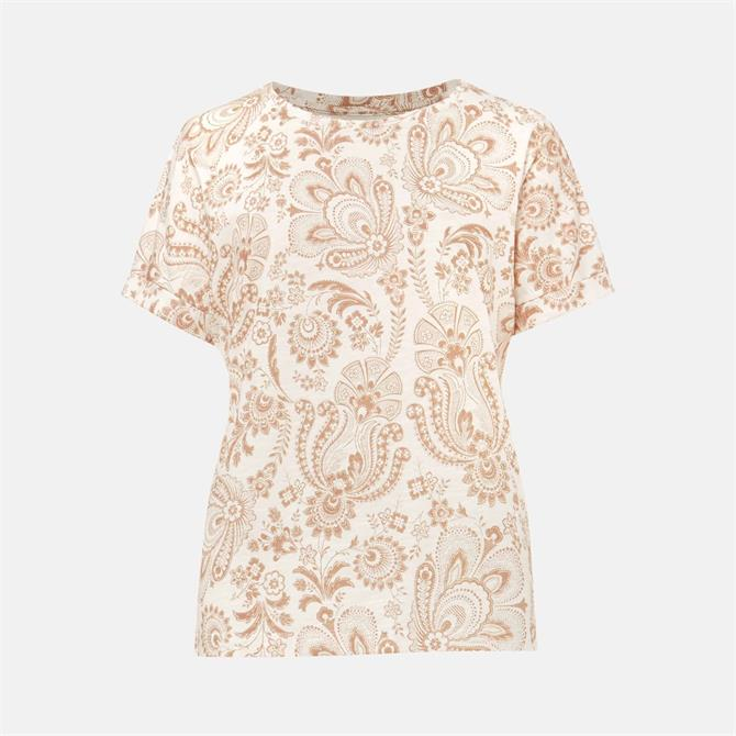 Phase Eight Hasina Paisley Print Scoop Top
