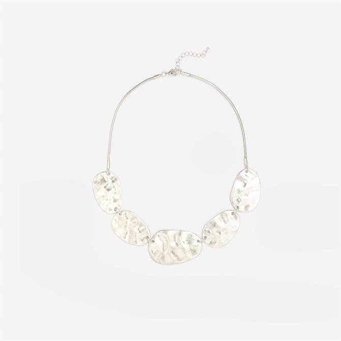 Phase Eight Hattie Short Silver Necklace