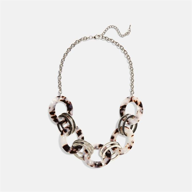 Phase Eight Helly Short Resin Necklace