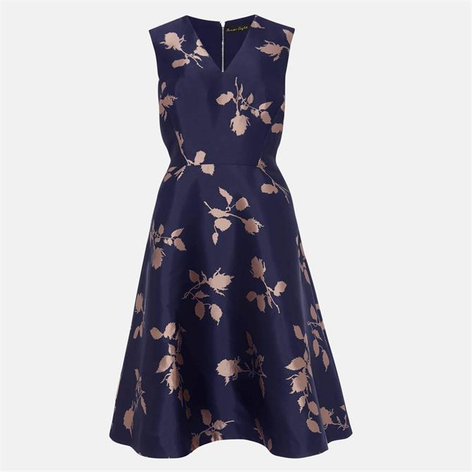 Phase Eight Jordyn Jacquard Fit & Flare Dress