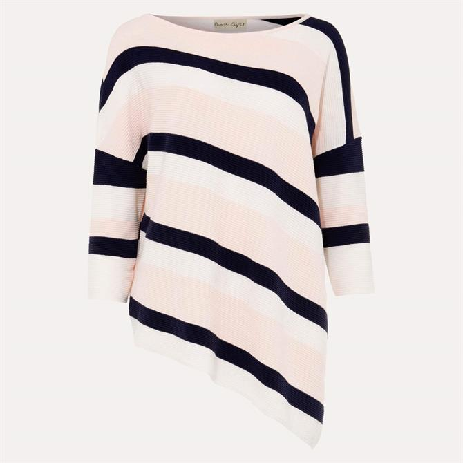 Phase Eight Jodie Ripple Stitch Stripe Jumper