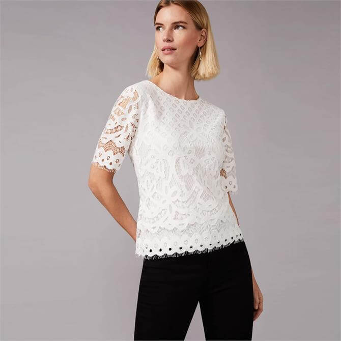 Phase Eight Kayleigh Lace Top