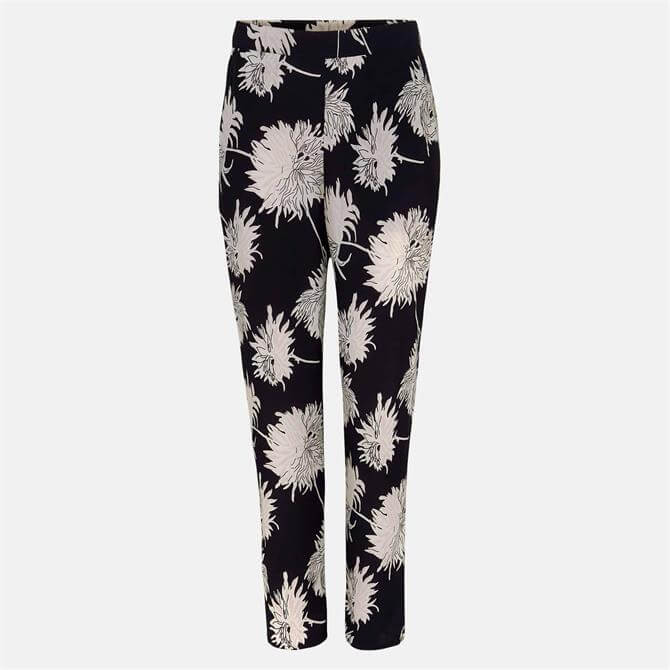 Phase Eight Keki Floral Print Tapered Trouser