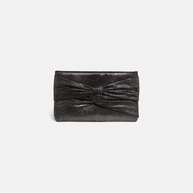 Phase Eight Keri Metallic Knotted Clutch Bag