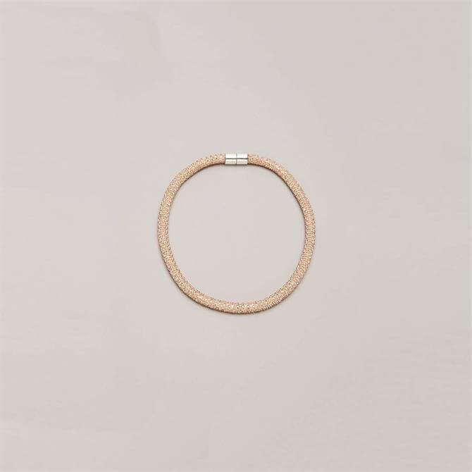 Phase Eight Lizzie Rose Gold Sparkle Necklace