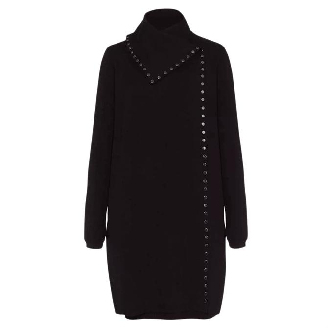 Phase Eight Paloma Stud Knit Coat