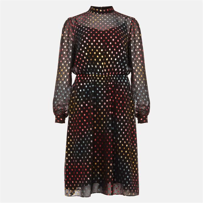 Phase Eight Shimmer Spot Dress