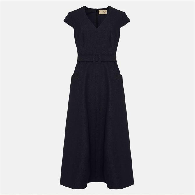 Phase Eight Timothia Denim Fit & Flare Dress