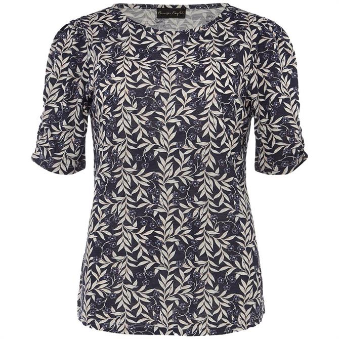 Phase Eith Poppie Leaf Print Top